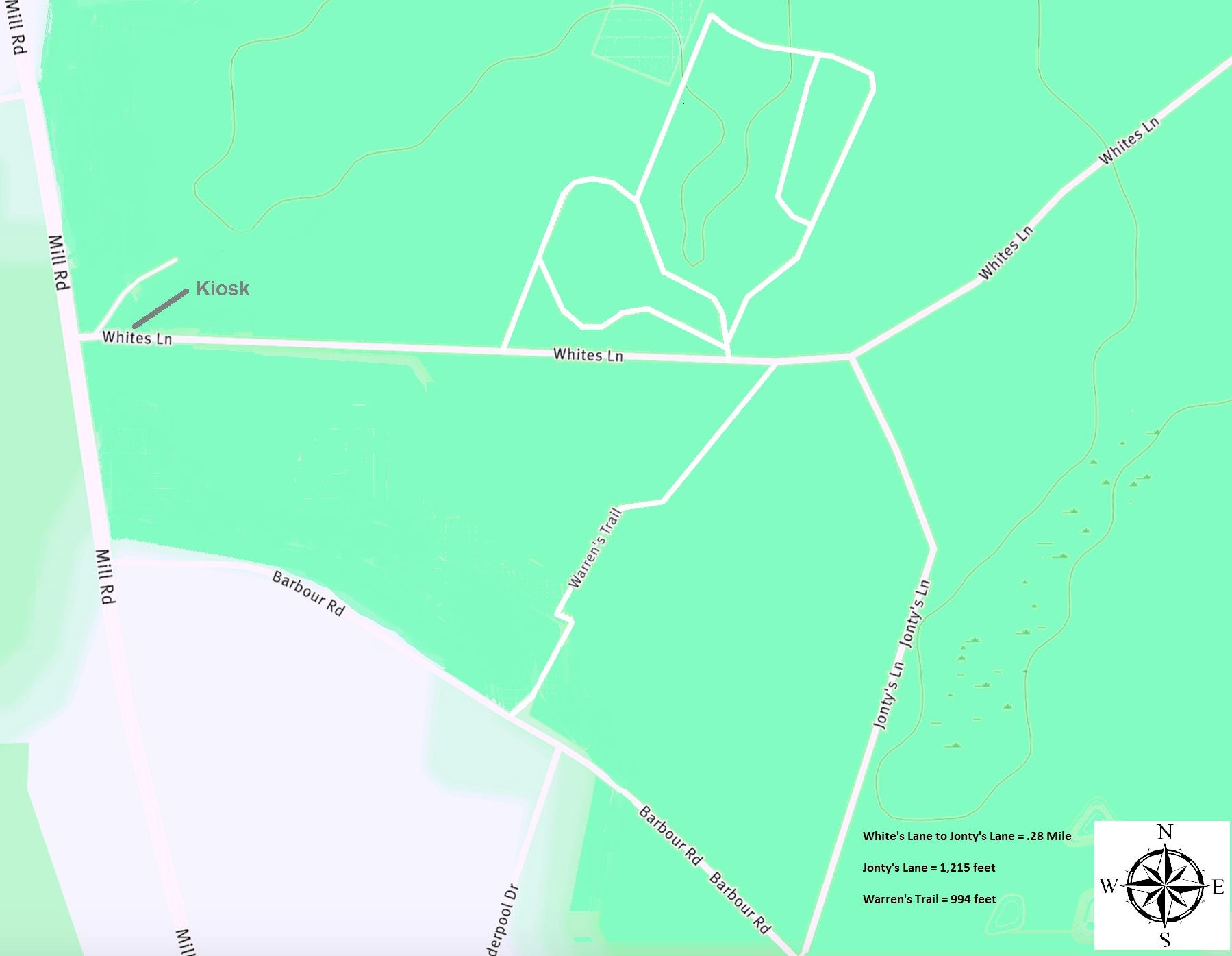Whites Lane  Map (JPG)